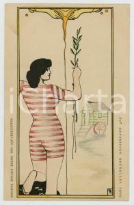 1909 50e Exposition BRUXELLES - Société des Aquarellistes - Carte postale