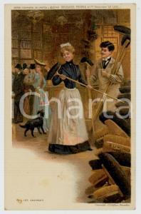 1910 ca Artist Basile LEMEUNIER - DELHAIZE Frères - Les brosses *Postcard n°6