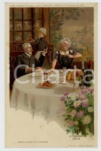 1910 ca Artist Basile LEMEUNIER - DELHAIZE Frères - Entre la poire et le fromage