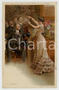 1910 ca Artist Basile LEMEUNIER - DELHAIZE Frères -  Le parfum *Postcard n°5