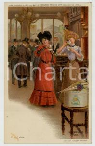 1910 ca Artist Basile LEMEUNIER - DELHAIZE Frères - Le moka *Postcard n°8