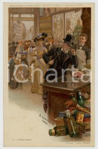 1910 ca Artist Basile LEMEUNIER - DELHAIZE Frères - Comestibles *Postcard n°2