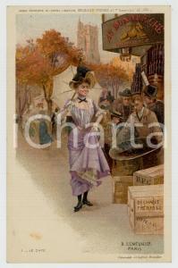 1910 ca Artist Basile LEMEUNIER - DELHAIZE Frères - Le café *Postcard n°1