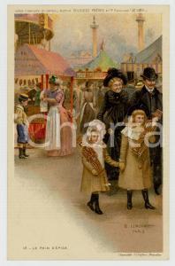 1910 ca Artist Basile LEMEUNIER - DELHAIZE Frères - Pain d'épice *Postcard n° 18