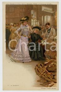 1910 ca Artist Basile LEMEUNIER - DELHAIZE Frères - Le biscuit *Postcard n° 12