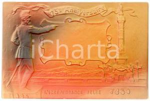 1905 BELGIQUE Indépendance belge - 15° Anniversaire - Carte postale ILLUSTRÉE FP