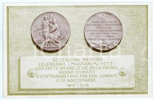 1920 WW1 Comitato d'azione tra mutilati, invalidi e feriti di guerra CARTOLINA