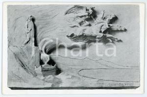 1916 WW1 - TORINO Società DANTE ALIGHIERI - Scultura di Tancredi POZZI Cartolina