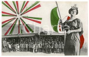 1915 ca WW1 - SAN FILI (CS) Comitato di preparazione civile - Cartolina FP NV