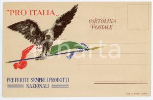 1920 ca PRO ITALIA Associazione Movimento dei Forestieri - Cartolina FP NV (1)