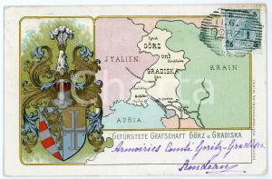 1900 GRADISCA - GORIZIA Gefürstete graf schaft Görz und Gradiska - Postcard