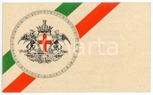 1915 WW1 - ZONA DI GUERRA Genetliaco Vittorio Emanuele III - Cartolina
