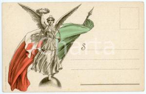 1915 ca WW1 Banca Commerciale Italiana - Sottoscrizione - Cartolina ILLUSTRATA