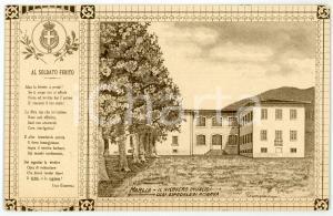 1915 ca CAPANNORI - MARLIA Ricoveri invalidi - Ospedale di riserva - Cartolina