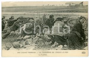 1912 CHOISY-LE-ROI - Bande BONNOT - Fin d'une terreur - La Fusillade *Postcard
