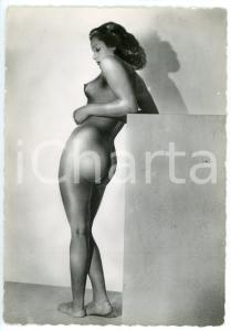 1950 ca VINTAGE EROTIC Nude woman from behind - Photo risque 10x15 cm