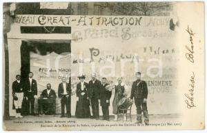 1902 SEDAN Kermesse au profit des Sinistrés de la Martinique - Carte postale