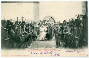 1903 FRANCE GRANDE CHARTREUSE Expulsion Pères Chartreux - Carte postale