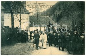 1905 ca FRANCE GRANDE CHARTREUSE Expulsion Pères Chartreux 1903 (4) Carte
