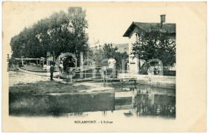 1910 ROLAMPONT (FRANCE) L'Ecluse - Carte postale ANIMEE CPA