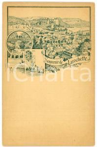 1890 ca LAROCHETTE - LUXEMBOURG Carte postale ILLUSTRÉE FP NV