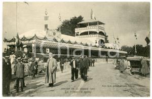 1907 CIRCUIT DE LA PRESSE - Course automobile - Les tribunes - Carte postale