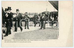 1903 ROUBAIX Pose première pierre Hôpital