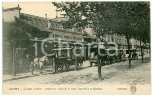 1910 ca MAISONS-ALFORT Entrée de l'usine de la SUZE, apéritif à la Gentiane