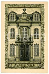 1910 ca BELGIUM ANTWERPEN Jacques NEEFS Fyne Likeuren - Postcard