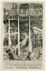 1911 DRESDEN Internationalen Hygiene Ausstellung - BAD KISSINGEN - Postcard