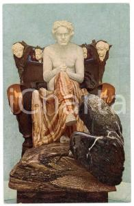 1910 ca LEIPZIG Museum der bildenden Kunste - Max KLINGER, Beethoven *Postcard