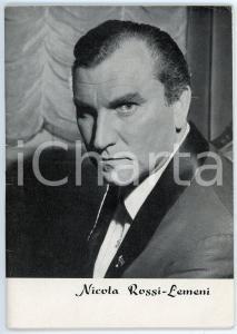 1965 LIRICA Nicola ROSSI-LEMENI - Pubblicazione ILLUSTRATA 48 pp.
