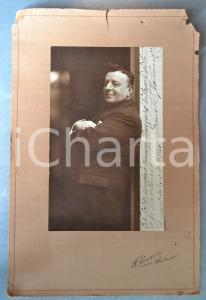 1924 BUENOS AIRES - TEATRO - Ermete Francesco - Foto con AUTOGRAFO 24x36 cm