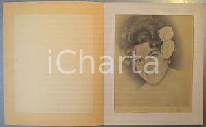 1960 ca ACAPULCO (MEXICO) Silvana PAMPANINI Portrait - NORMANDIE restaurant (1)