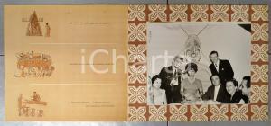 1960 ca MEXICO CITY Silvana PAMPANINI - Dinner - MAUNA LOA restaurant (1)