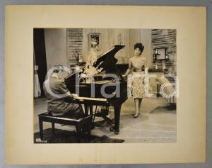 1959 MEXICO CITY Silvana PAMPANINI - Rehearsal (2) Photo Angel OTERO 36x28 cm