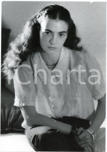 1980 ca TEATRO BRESCIA Patrizia ZAPPA MULAS - Ritratto - FOTO