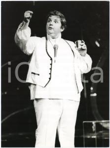 1985 ca BRAZIL - TEATRO - Jo SOARES - Un personaggio - Foto di scena (4)