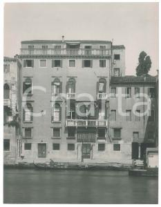 1925 ca VENEZIA - Palazzo AVOGADRO - SAN SILVESTRO - Foto ANIMATA 16x21 cm