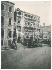 1925 ca VENEZIA - Palazzo AVOGADRO - Foto ANIMATA 17x23 cm