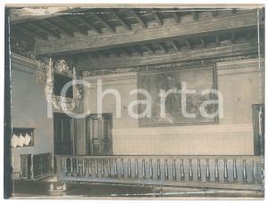 1925 ca VENEZIA - Interno di palazzo storico - Foto 23x17 cm