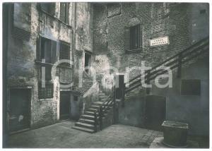 1925 ca VENEZIA - Corte BRESSANA - Foto ARTISTICA 23x17 cm