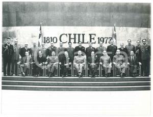 1973 CHILE Colpo di Stato - PINOCHET - Giunta militare - Foto 24x18 cm