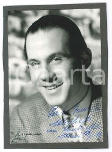 1960 ca Musicista Mario PEZZOTTA - Ritratto - Foto con AUTOGRAFO 10x15 cm