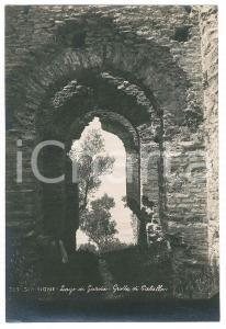 1930 ca LAGO DI GARDA - SIRMIONE - Grotte di Catullo - Foto 11x17 cm