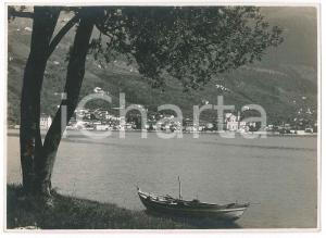 1930 ca LAGO D'ISEO - SALE MARASINO visto da Montisola - Foto 17x12 cm