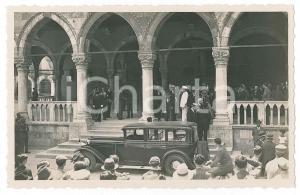 1925 ca UDINE Loggia del Lionello - Cerimonia - Arrivo autorità - Foto