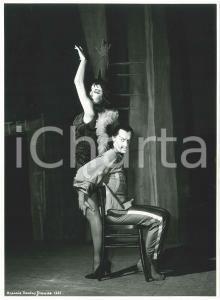 1957 BRESCIA Teatro Grande - Lia DELL'ARA Milorad MISKOVITCH - Foto di scena