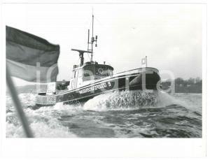 1970 ca DEUTSCHLAND - POLIZEI - Wasserschutzpolizei - Photo 24x18 cm