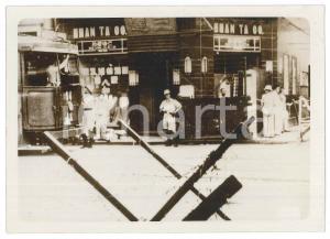 1939 CINA - TIENTSIN - Un presidio militare britannico - Foto 18x13 cm